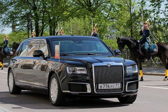 Лимузин проекта «Кортеж» протестирован В.В.Путиным