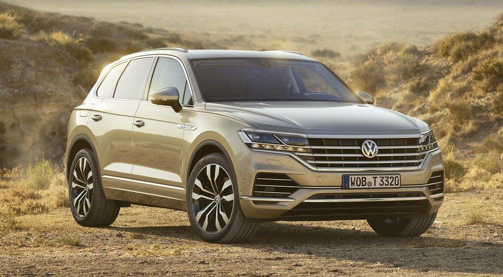 Первый тест-драйв нового Volkswagen Touareg 2018 Видео