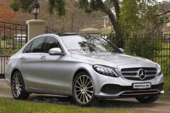 Первые снимки обновленного Mercedes-Benz C-Class