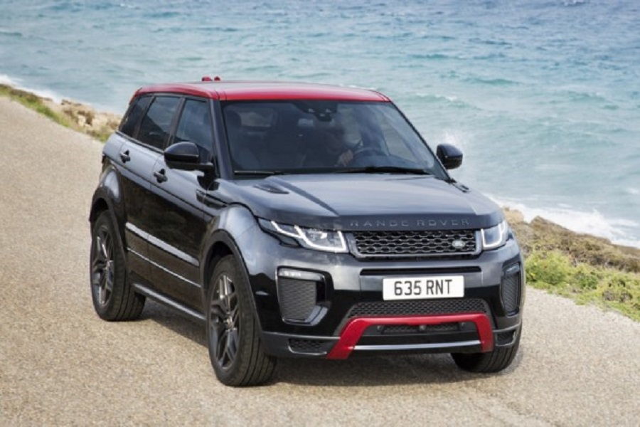 Новый кроссовер Range Rover Evoque: очередные подробности