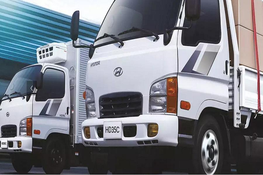 новый грузовик Hyundai HD35 City