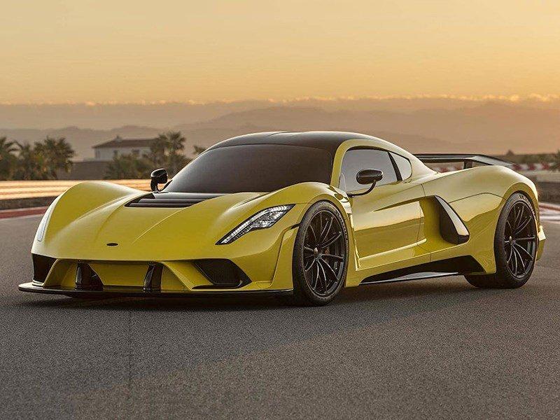 Самая быстрая машина в мире Hennessey Venom F5, представлена официально