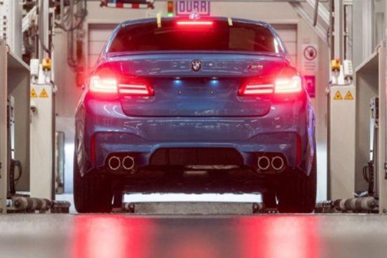 В Германии начали собиратьсамый мощный седан BMW M5