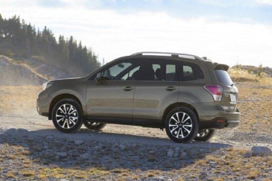 Новый кроссовер Subaru Forester появится в 2018 году