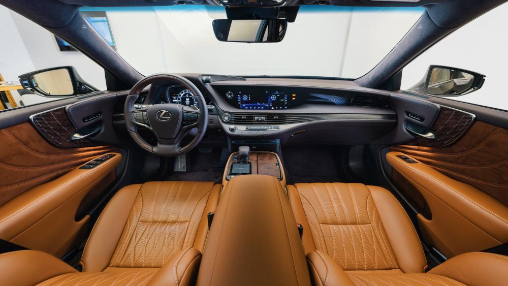 оборудование Lexus LS