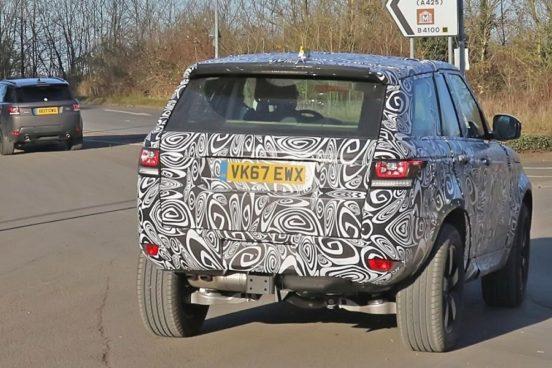 Внедорожник Land Rover Defender 2019: первые фото
