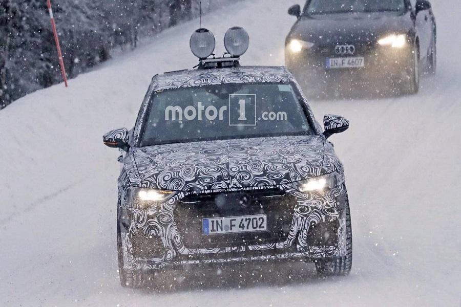 Новый седан Audi A6 вывели на тесты, первые фото