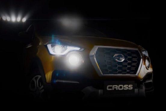 Видео первого японского кроссовера Datsun Cross