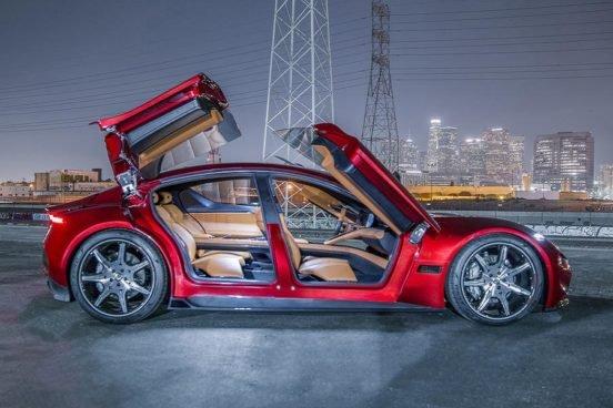 Компания Fisker показала главного конкурента Tesla S