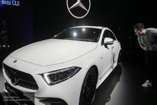Озвучены российские расценки на новый седан Mercedes-Benz CLS