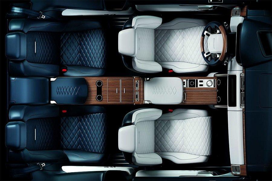 Первое фото салона внедорожника Range Rover SV Coupe