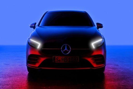 Известна дата нового Mercedes-Benz A-Class.Фото