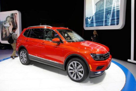 Озвучена стоимость кроссовера Volkswagen Tiguan Allspace