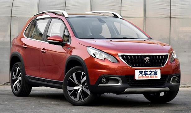 """Стартовали """"живые"""" продажи обновленного кросса Peugeot 2008"""