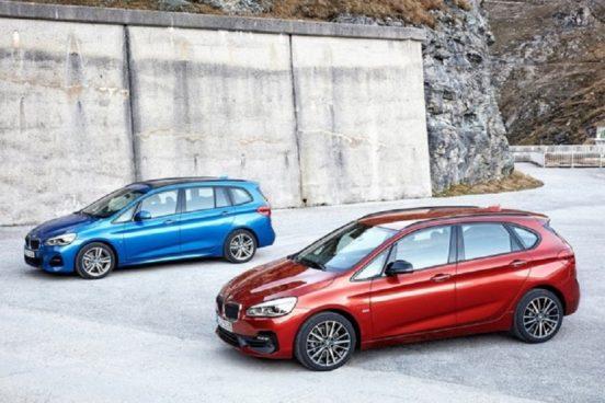 Вышли обновленные BMW 2-Series Tourer и 2-Series Gran Tourer