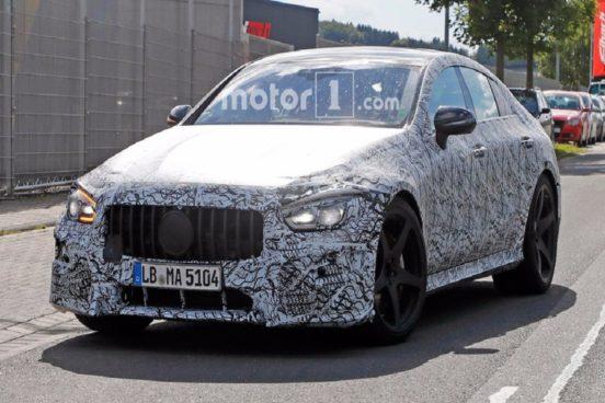 Новый седан Mercedes-AMG GT Sedan представят в Детройте