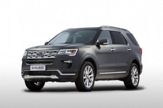 Обновленный внедорожник Ford Explorer скоро на рынке России