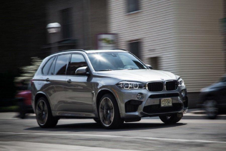 BMW X5 M нового поколения замечен во время тестирования