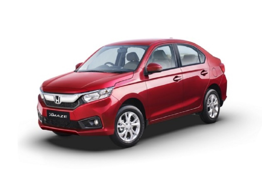 Седан Honda Amaze второго поколения представлен официально