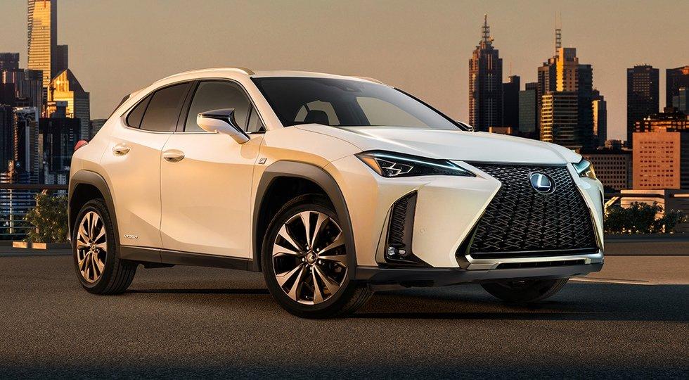 Lexus раскрыла дизайн самого доступного кроссовера