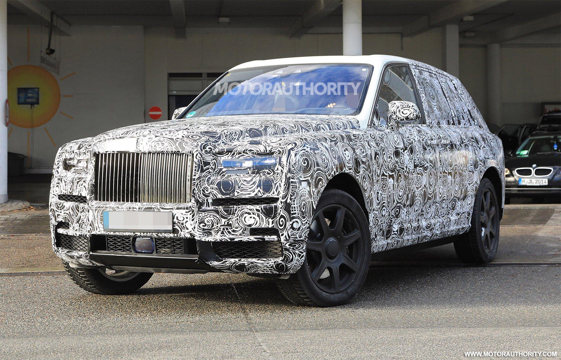 Британский кроссовер Rolls-Royce Cullinan