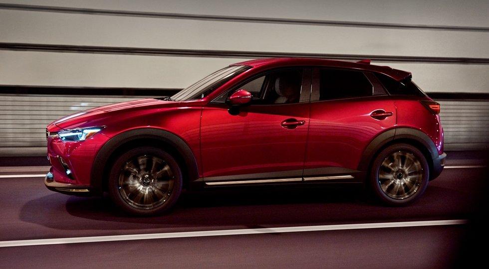 В Нью-Йорке дебютировал обновленный Mazda CX-3