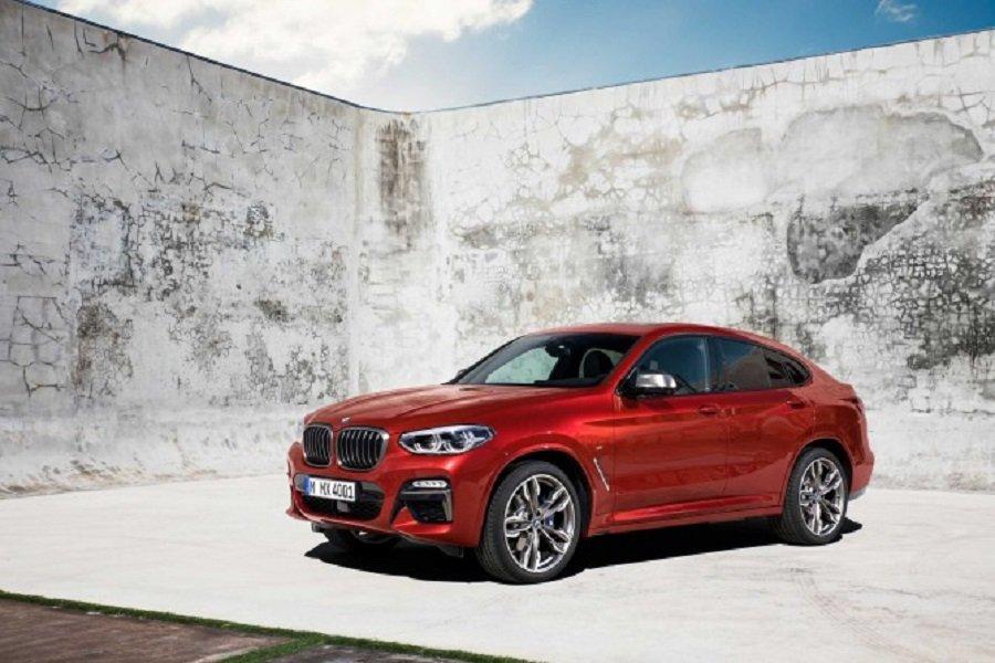 Озвучены рублевые цены на новый кроссовер BMW X4