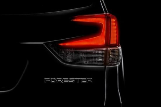 Subaru Forester пятого поколения представят уже в марте