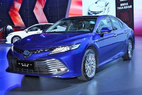 Новые подробности о новом седане Toyota Camry для РФ
