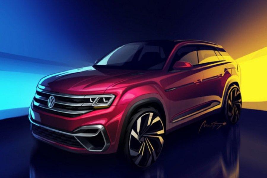 Volkswagen анонсировал пятиместный кроссовер Atlas