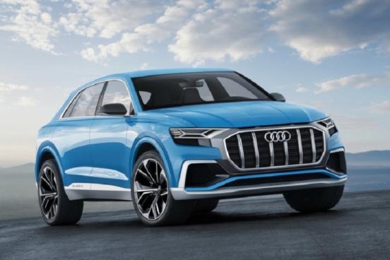 Озвучена дата премьеры нового кроссовера Audi Q8