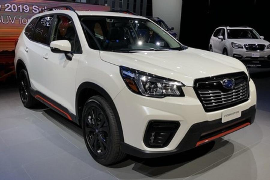 Subaru Forester пятого поколения представлен официально