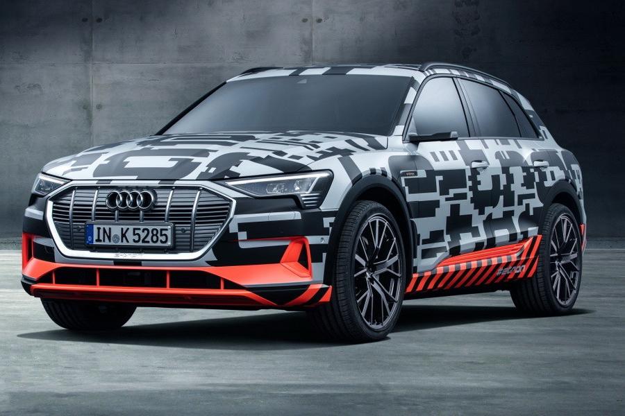 Названа стоимость нового Audi e-tron для рынка Европы
