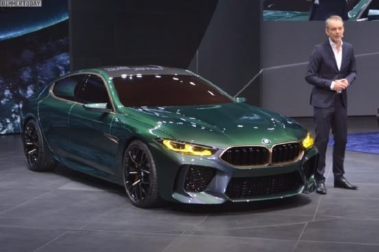 КомпанияBMW представила BMW M8 Gran Coupe