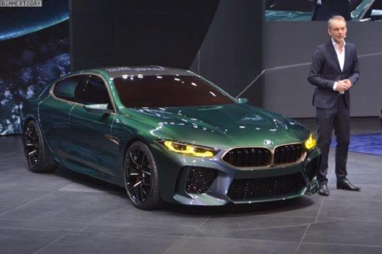 КомпанияBMW представила BMW M8 Gran Coupe