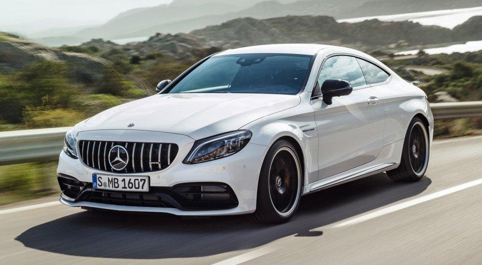 В Нью-Йорке представили обновлённый Mercedes-AMG C 63