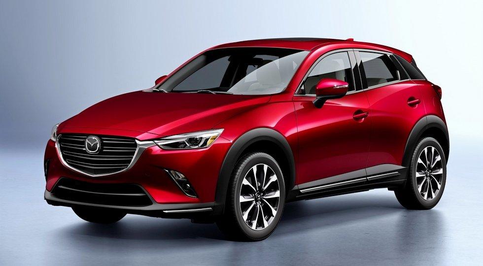 Обновленный Mazda CX-3
