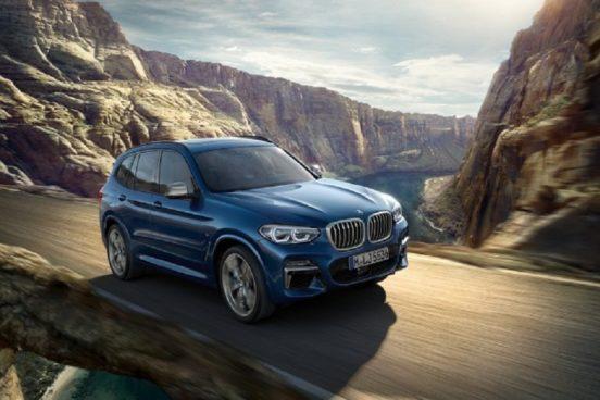 Марка BMW подняла стоимость кроссовера BMW X3
