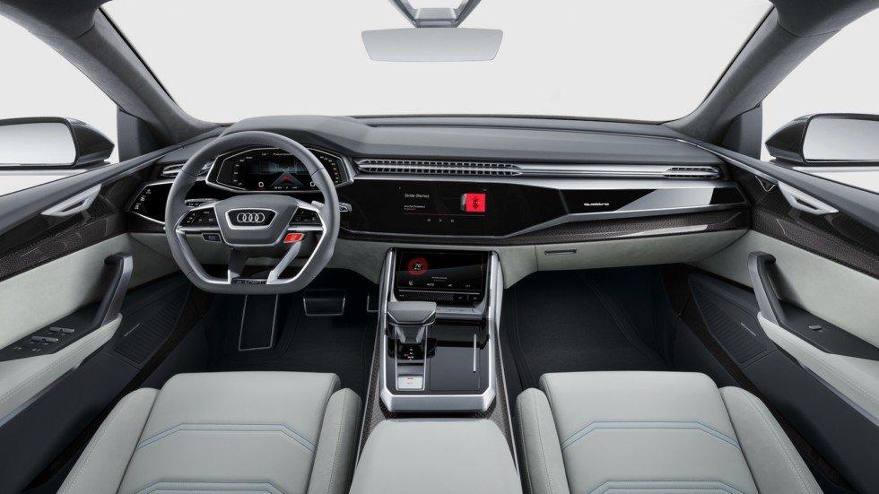 Интерьер Audi Q8 Concept