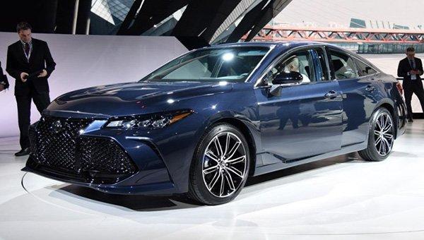 Обновленный Toyota Avalon