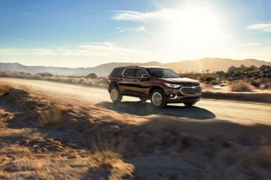 Известны цены на кроссовер Chevrolet Traverse для России
