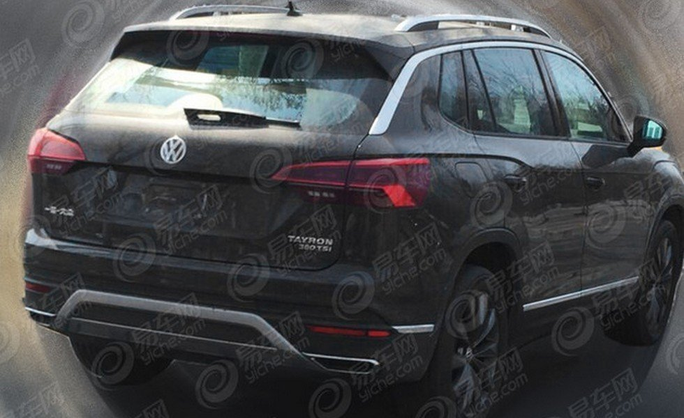 Новый Volkswagen Tayron замечен