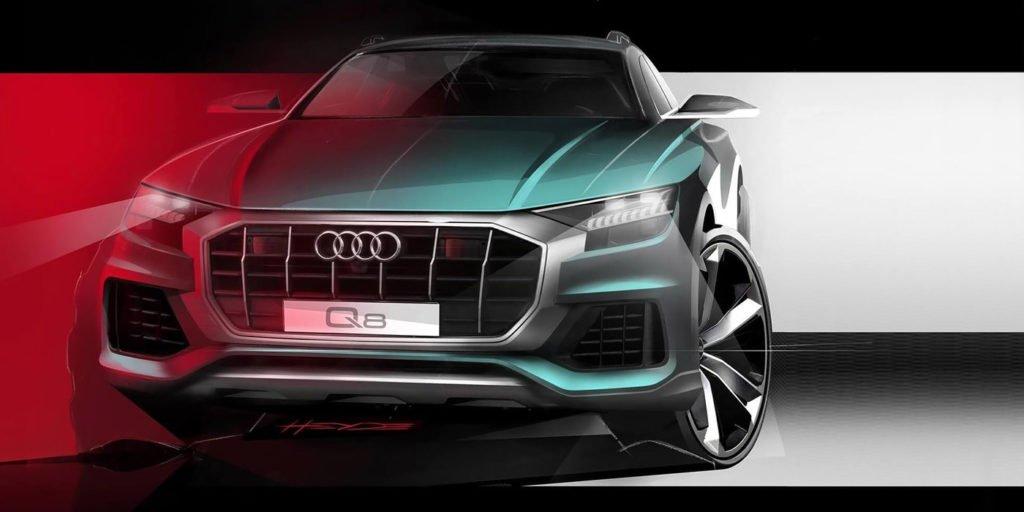 Раскрыт дизайн нового флагманского кроссовера Audi Q8