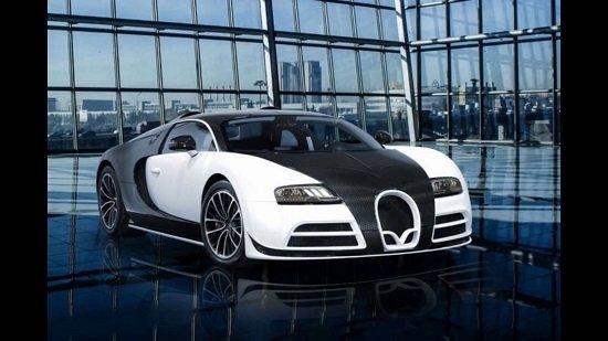 3 ступень -Bugatti Veyron Limited Edition в топ-10 самых дорогих автомобилей