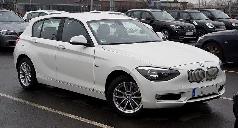 в рейтинге лучшая немецкая машина -BMW 1 Series