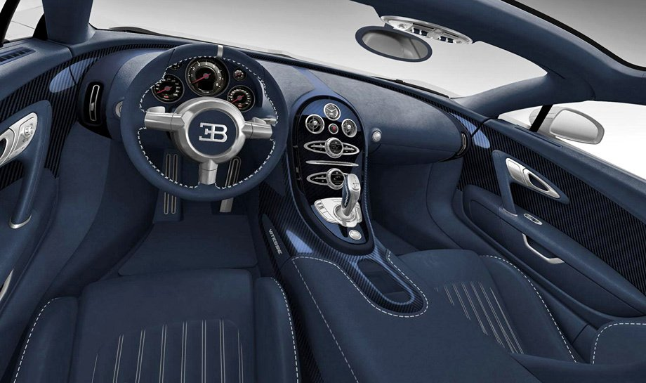 Интерьер Bugatti Veyron Limited Edition
