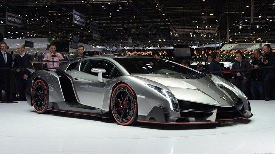 2 строчка - Lamborghini Venen в топ-10 самых дорогих машин