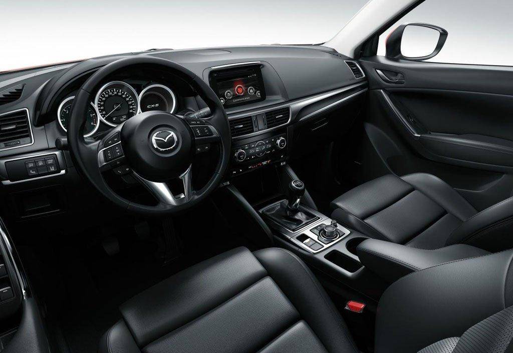 интерьер Mazda CX-5