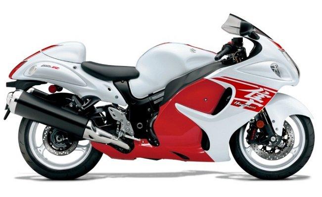 2 позиция -Suzuki Hayabusa в рейтинге самых быстрых мотоциклов