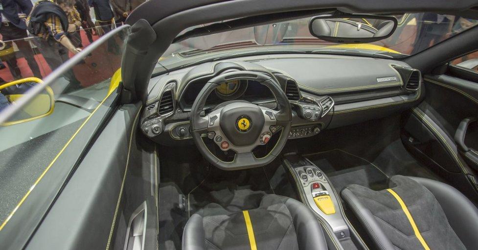 Интерьер Ferrari Pininfarina Sergio